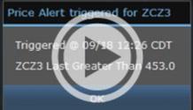 Price Alerts - ценовые будильники :-)