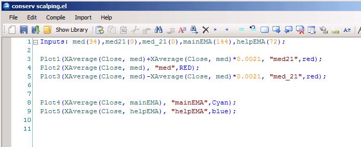 Создаем код