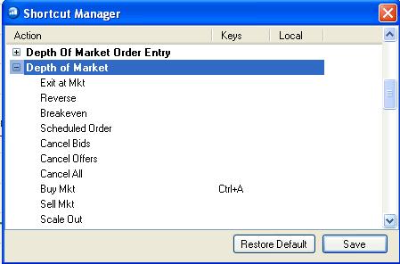 """Откройте нужный раздел. Например """"Биржевой стакан"""" (DOM - depth of market)"""