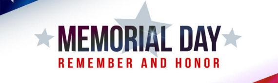 День Поминовения (Memorial Day) 31 мая 2021 год