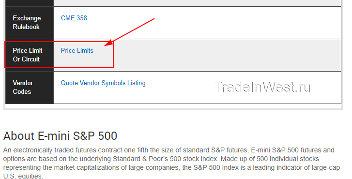 планка - это ценовой лимит (Price Limit)